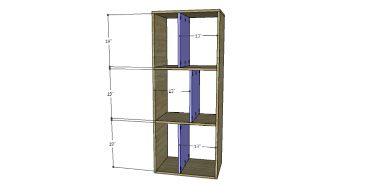 DIY Plans to Build a Daisy Bookcase_Dividers