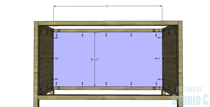 DIY Plans to Build a Mosaic Cabinet_Back