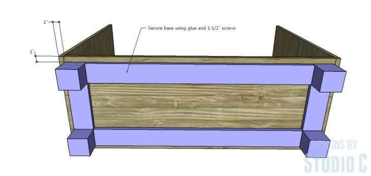 DIY Plans to Build a Brenley Media Console_Base 2
