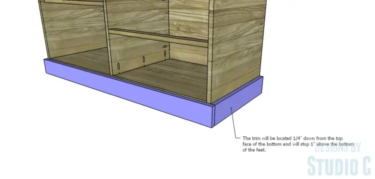 DIY Plans to Build a Brenley Media Console_Trim