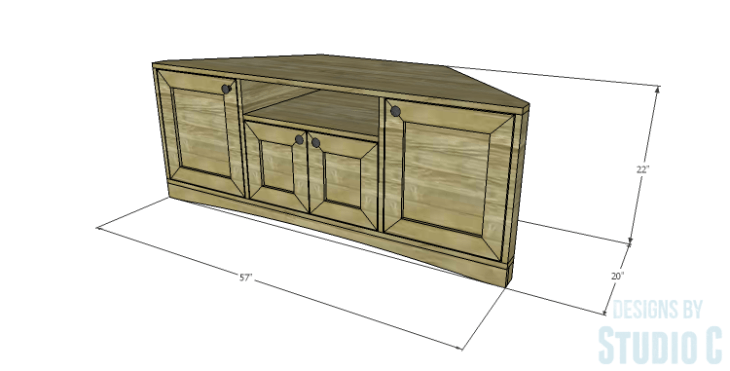 DIY Plans to Build a Rushton Media Stand