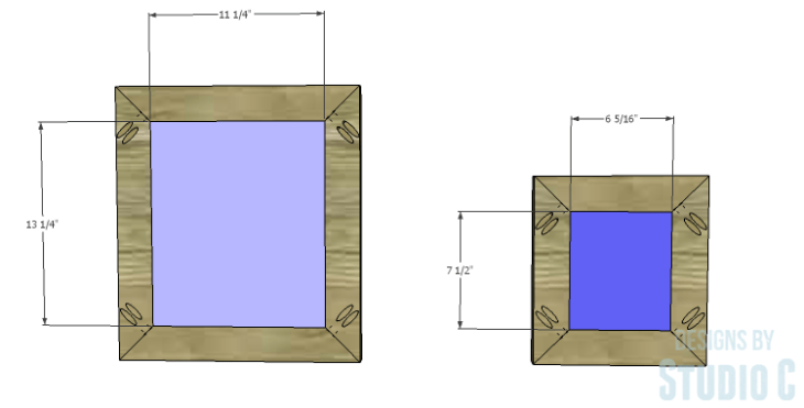 DIY Plans to Build a Rushton Media Stand_Door Panels