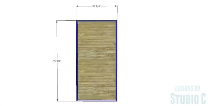 DIY Plans to Build a Single Door Armoire_Door 2