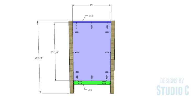 DIY Plans to Build a Trinity Cabinet_Sides