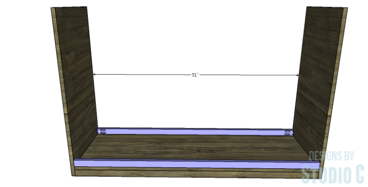 DIY Plans to Build a Providence Dresser_Lower Stretchers