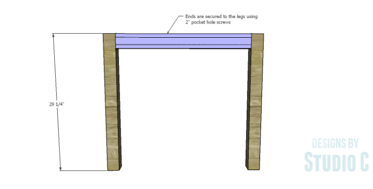 DIY Plans to Build a Holly Dining Table_Ends 2