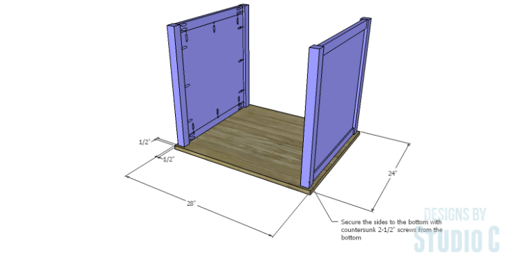 DIY Plans to Build a Lila End Table_Sides 2