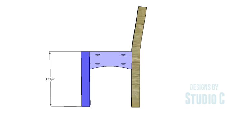 DIY Plans to Build a Taboreh Bench_Side Stretchers 2