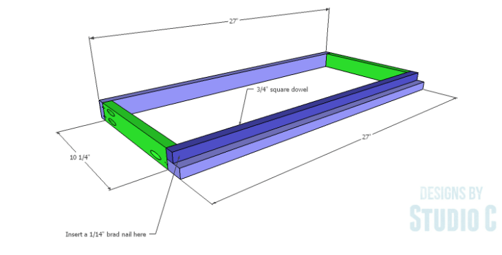 DIY Plans to Build a Holly Bookcase_Shelf Frames 1