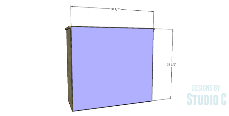 DIY Plans to Build a Savoy Cabinet_Back