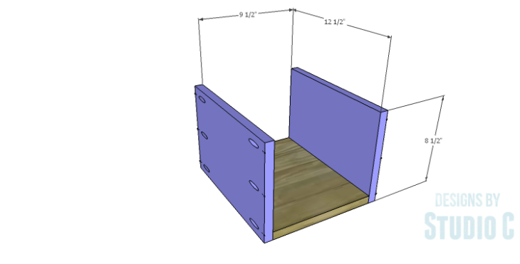 DIY Plans to Build a Savoy Cabinet_Drawer BS