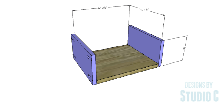 DIY Plans to Build a Delvigne Media Cabinet_Drawer BS