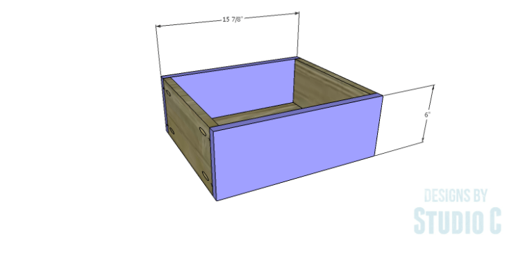 DIY Plans to Build a Delvigne Media Cabinet_Drawer FB