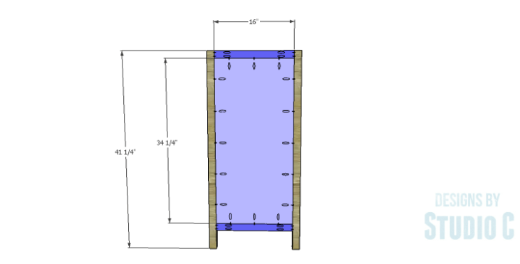 DIY Plans to Build a Doyle Cabinet_Sides