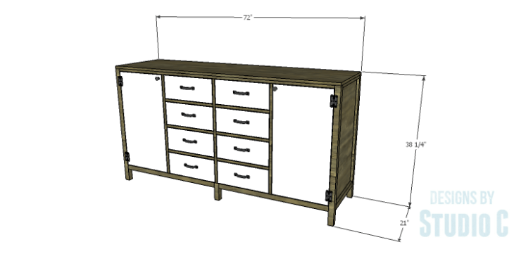 DIY Plans to Build a Monroe Dresser