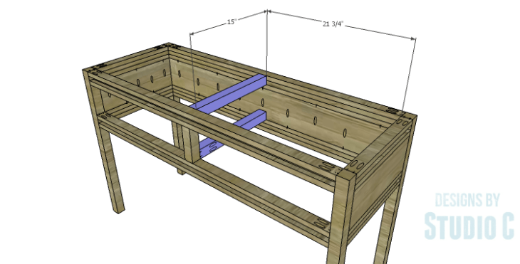 DIY Plans to Build a Holly Console Table_Center Supports
