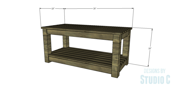 DIY Plans to Build a Simple Outdoor Bench