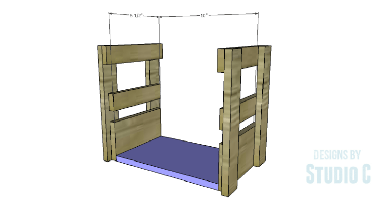 DIY Plans to Build a Bottle Crate_Bottom