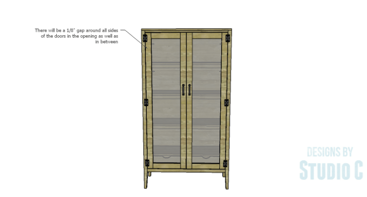 DIY Plans to Build a Scoville Pantry_Doors 3