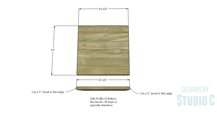 DIY Plans to Build a Rustic Laundry Cart_Bottom