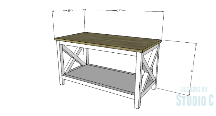 DIY Plans to Build a Riley Coffee Table