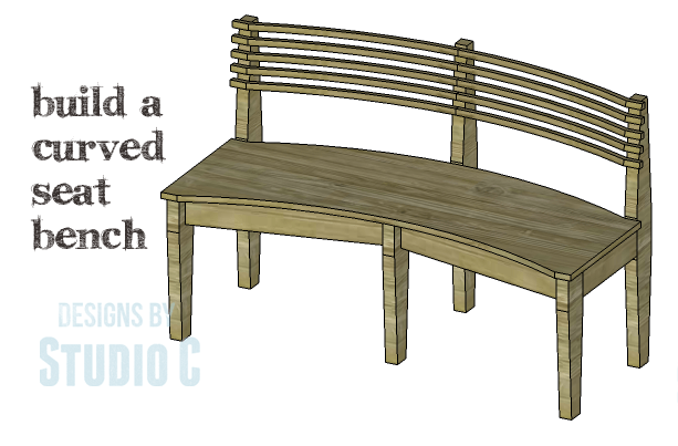 DIY Plans to Build a Curved Seat Bench_Copy