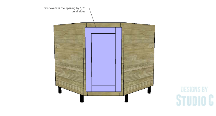 how to cut a hole in wood cabinet