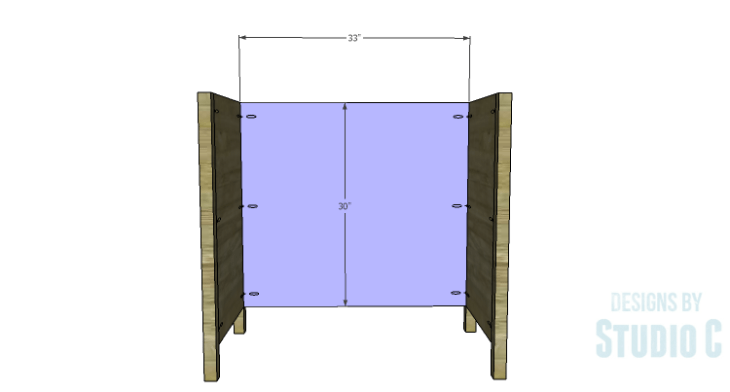 DIY Plans to Build a Furniture Style Bath Vanity_Back