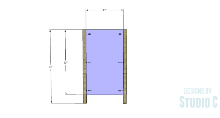 DIY Plans to Build a Furniture Style Bath Vanity_Sides