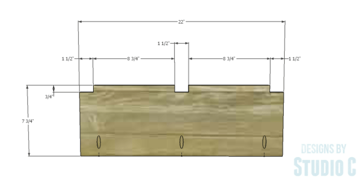 DIY Plans to Build an Eckhart Kitchen Island_Drawer Dividers 1