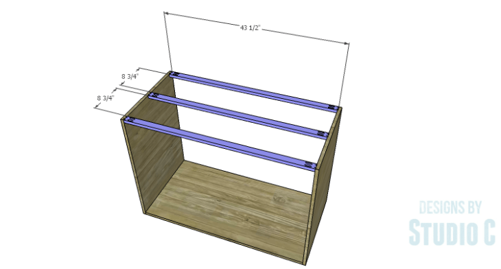 DIY Plans to Build an Eckhart Kitchen Island_Stretchers