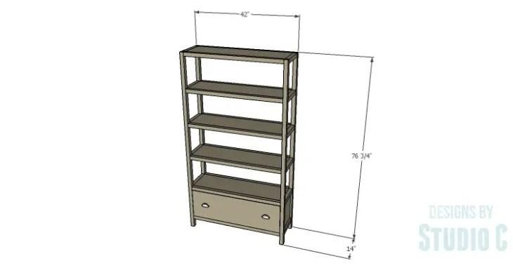 DIY Plans to Build a Milo Shelving Unit