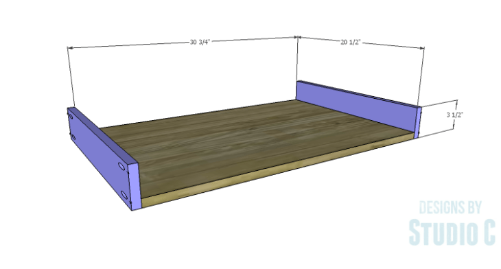 DIY Plans to Build a Monette Coffee Table_Drawer BS