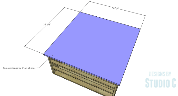 DIY Plans to Build a Monette Coffee Table_Top