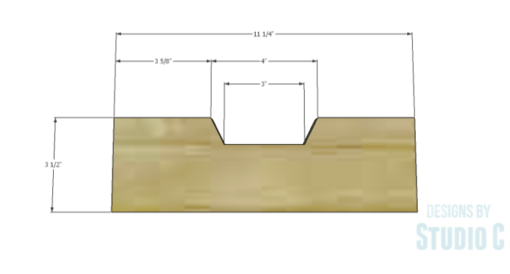 DIY Plans to Build a Trunk Style Bath Vanity_Drawer Front