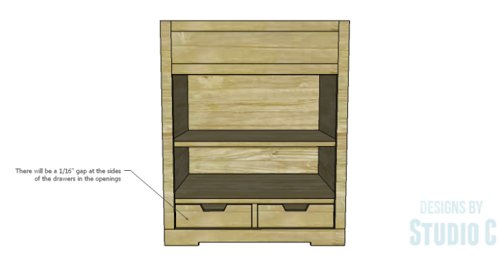 DIY Plans to Build a Trunk Style Bath Vanity_Drawers