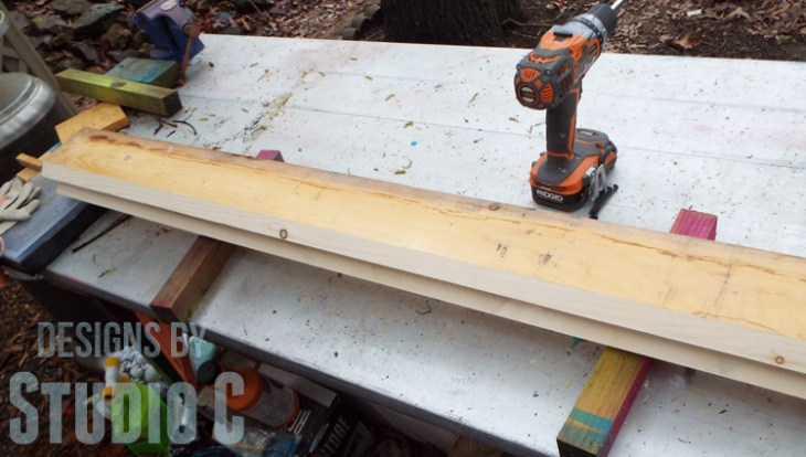 How to Cut Wood Legs with a Template_Bevel