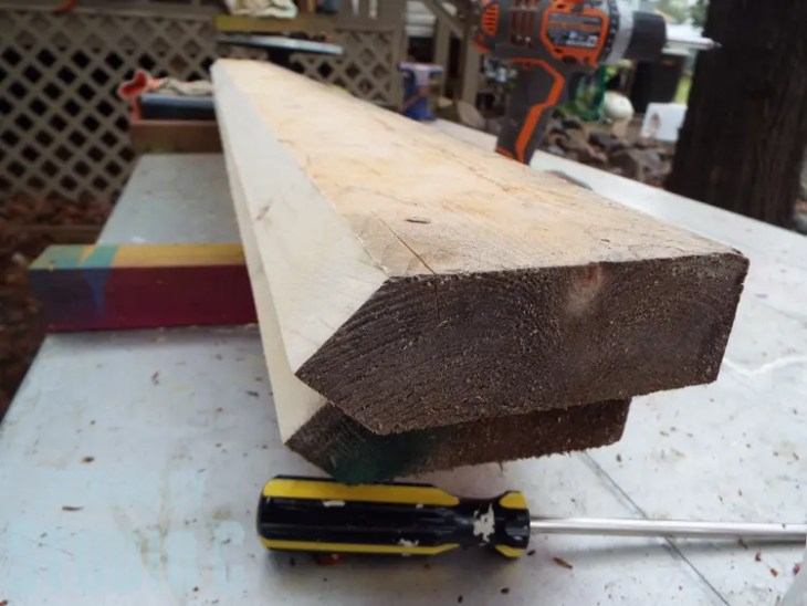 How to Cut Wood Legs with a Template_Bevel Profile