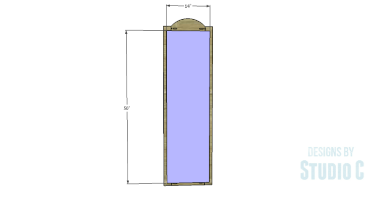 DIY Plans to Build a Dorm Mirror Frame_Back