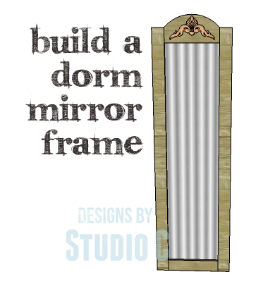 DIY Plans to Build a Dorm Mirror Frame_Copy