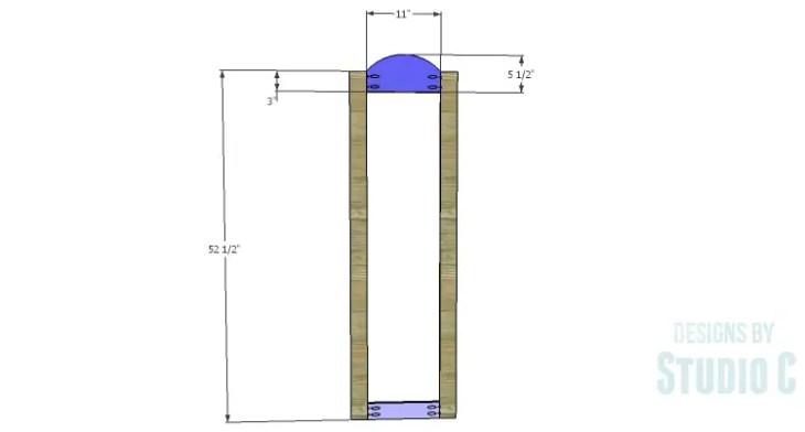 DIY Plans to Build a Dorm Mirror Frame_Frame