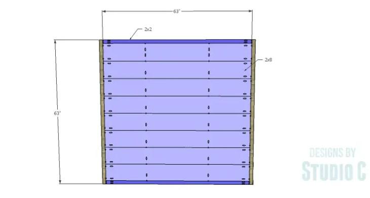 Metal Strap Bed_Headboard