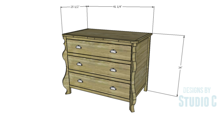 DIY Plans to Build a Raphael Dresser