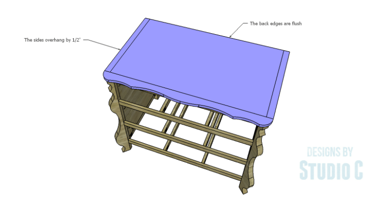 DIY Plans to Build a Raphael Dresser_Top 2