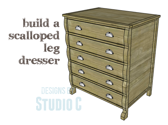 DIY Plans to Build a Scalloped Leg Dresser_Copy