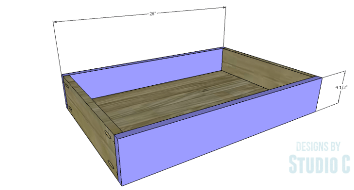 DIY Plans to Build a Scalloped Leg Dresser_Drawer FB