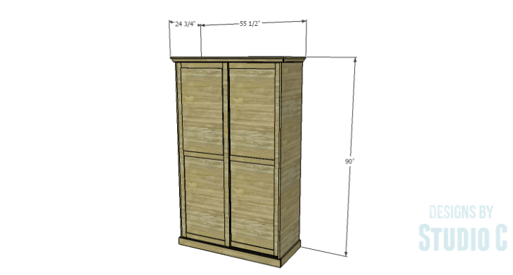 DIY Plans to Build a Sliding Door Pantry