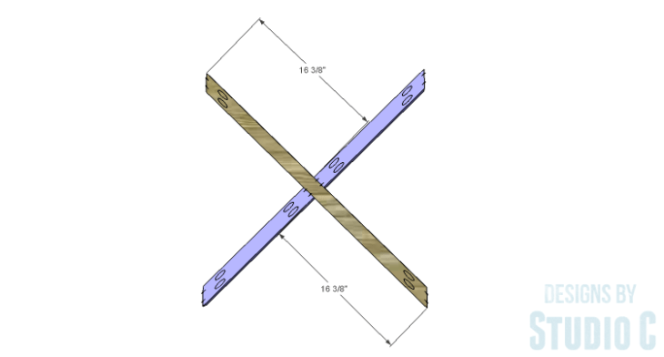 DIY Plans to Build an X Leg Chair_X 2