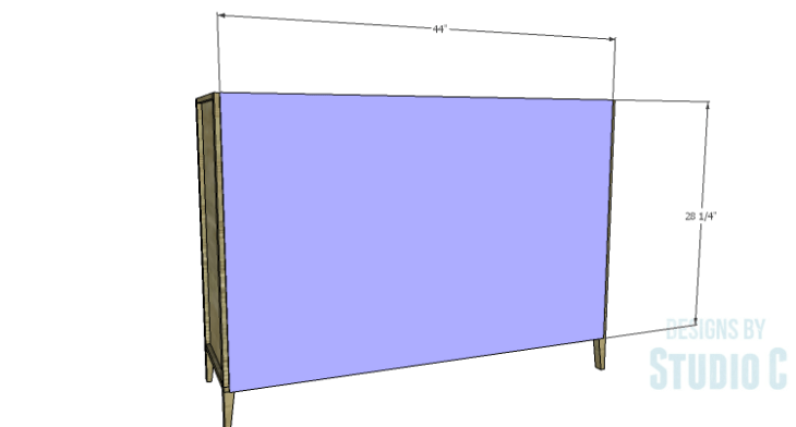 DIY Plans to Build a Gabriela Dresser_Back