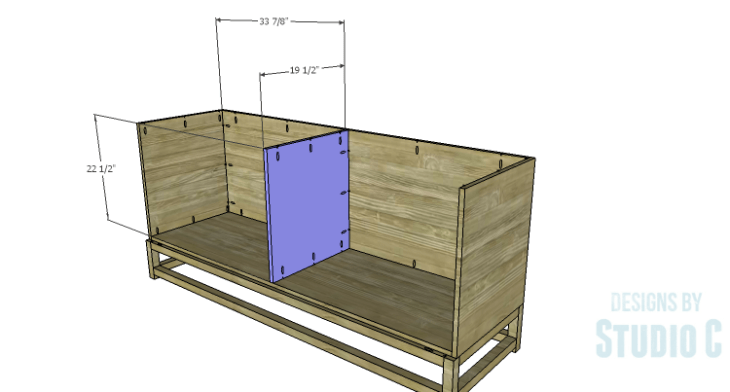DIY Plans to Build a Port Modern Dresser_Divider